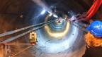 Drei Meter hohe Tunnels - ein ganzes System von Nischen und Kavernen: Tiefenlager bei St. Ursanne.