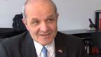 Martin Naville, Chef der Handelskammer Schweiz-USA, ist besorgt.
