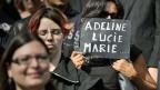 Trauermarsch für die ermordete  Sozialtherapeutin, am 21. September in Genf.