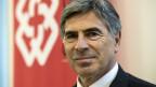 Christoph Eymann, neuer Präsident der Schweizerischen Konferenz der kantonalen Erziehungsdirektoren, EDK, stellt sich den Medien vor, am Montag, 28. Oktober 2013, in Bern.