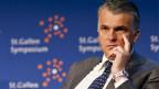 Sergio Ermotti, CEO UBS, nimmt es gelassen. Es sei eine temporäre Massnahme der Finma.