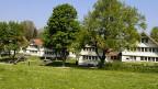 Blick auf einen Teil des Kinderdorfes Pestalozzi in Trogen AR.