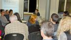 Auch SozialhilfebezügerInnen haben das Recht auf einen Anwalt.  Diskussionsveranstaltung der Unabhängigen Fachstelle für Sozialhilferecht UFS  im Quartierhaus  Kreis 5 in Zürich.