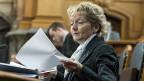 Finanzministerin Eveline Widmer-Schlumpf - hat sie für die Katz' gearbeitet?
