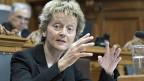Finanzdirektorin Eveline Widmer-Schlumpf ist der Ansicht,  es gebe klare gesetzliche Grundlagen für die Ausnahmen bei der Pauschalbesteuerung. Die Basis dazu liege im öffentlichen Interesse.