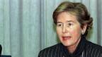 Am Montag, 12. Dezember 1988 gibt Bundesrätin Elisabeth Kopp ihren Rücktritt bekannt.
