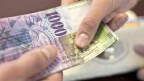 Gelegenheit macht Diebe. In der Druckerei von Orell Füssli wurden Banknoten während der Produktion gestohlen.