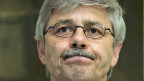 Carlo Conti, Vorsteher des Gesundheitsdepartementes Basel-Stadt kündigt am 7. Januar an einer Medienkonferenz seinen Rücktritt an.