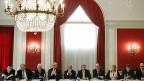 Fast alle grossen Wirtschaftsverbände haben sich am 6. Januar in Bern zusammengefunden – und ihr Nein zur SVP-Initiative bekräftigt.