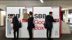 Nach einer Pilotphase in verschiedenen Schweizer Städten wird die «Good Box» der SBB nun definitiv eingeführt.