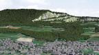 Jura Cement will einen Drittel der Gisliflue (Bild) abbauen - denn im Berg steckt der begehrt Kalkstein und Mergel für die Zementproduktion.