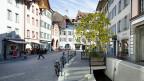 Die Altstadt von Aarau. Der Spaziergang durch Aarau - durch die 43. Wakker-Preis-Stadt zeigt, dass nachhaltige Verdichtung nicht spektakulär, sondern oft unscheinbar daher kommt.