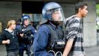 1. Mai 2011: Die Polizei verhaftete viele Demonstranten noch vor dem Ende der offiziellen Kundgebung.