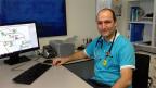 Hausarzt Daniel Rosa ist einer der Genossenschafter der Praxis in Ebnat-Kappel.
