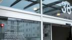 Sicht auf den Eingangsbereich des Staatssekretariat für Wirtschaft, Seco, in Bern.