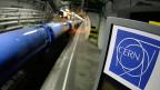 Der Teilchenbeschleuniger am Cern in Genf.