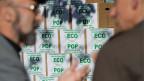 Einreichung der Ecopop Initative «Stopp der Überbevölkerung - zur Sicherung der natürlichen Lebensgrundlagen»  am 2. November 2012 in Bern.