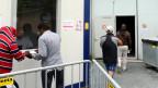 Zehn bis elf grosse Asylzentren sollen im Aargau entstehen. Allenfalls will man dazu Container aufbauen. Symboldbild.