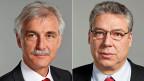 Der Urner GLP-Ständerat Markus Stadler und der Tessiner CVP-Ständerat Filippo.