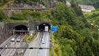 Wird der zweite Tunnel gebaut, dürfte im alten und im neuen Gotthardtunnel nur je eine Fahrspur benutzt werden.