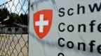 Die Militärunterkunft auf dem Gubel in Menzingen im Kanton Zug. Sie soll ab Frühling 2015 als Bundesasylzentrum dienen.