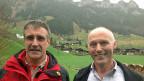 Silvio Covi und Peter Studer in Flühli, im Entlebuch.