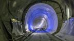 Wann der Monte-Ceneri-Basistunnel eröffnet werden kann - steht in den Sternen.