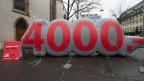 Am 18. Mai stimmt die Schweiz über die Mindestlohninitiative der Gewerkschaften ab, die flächendeckend einen Minimallohn von 4000 Franken einführen will.