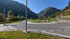 Wer soll aus dem Fonds für Nationalstrassen und Agglomerationsverkehr, NAF, schöpfen können? Bild: Kreisel bei Göschenen.