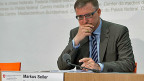 Markus Seiler, Direktor des Nachrichtendienstes des Bundes präsentiert den Lagebericht 2014.
