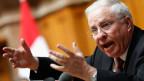 Christoph Blocher war ab 1979 im Nationalrat, bis er 2003 zum Bundesrat gewählt wurde. Nach seiner Abwahl eine Legislatur später wurde er 2011 wieder in die grosse Kammer gewählt.