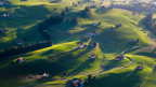 Kursänderungen in der Landwirtschaft brauchen Zeit und unternehmerischen Mut. Blick auf Bauernhöfe in der Nähe von Appenzell.