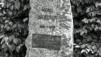 Grab des anarchisten Michail Bakunin auf dem Berner Bremgartenfriedhof.
