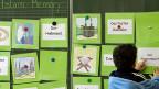 Islamischer Religionsunterricht an einer Schule in Deutschland.