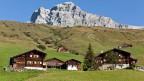 Walserhäuser in St. Antönien im Prättigau. Die Gemeinde profitiert diesmal von der Zürcher Entwicklungshilfe.