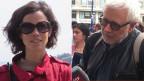 Priscilla Imboden, Korrespondentin in San Francisco und Peter Gysling, Korrespondent in Moskau.