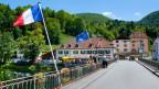 Grenzübergang Schweiz-Frankreich. Symbolbild.