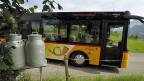 Das nächste Postauto von Blauen zurück ins Tal fährt erst am Mittag. Hier setzt die Idee der Mitfahrzentrale an - das Projekt der Gemeinde und der Postauto AG.
