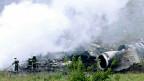 Solche Risiken muss man künftig vermeiden: Trümmer der malaysischen MH17 in der Ostukraine.