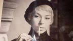 Sonja Carmeli, damals noch Sonja Moser, in ihren ersten Rom-Jahren.