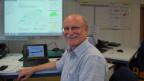 Hans Peter Willi, Abteilungsleiter Gefahrenprävention BAFU im Führungsraum.
