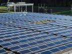 Solaranlage bei Daillens.
