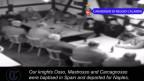 Der Mafiaclan beim Treffen in Frauenfeld. Screenshot Youtube.