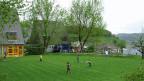 Die Spielwiese des Kinderheims Klösterli in Wettingen.
