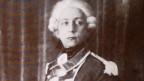 Frédéric Gonzague de Reynold, der Vater der geistigen Landesverteidigung, in einem Kostüm als Söldner.