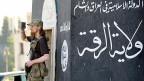 Ein islamistischer Kämpfer in einer Stadt im Norden Syriens.