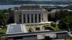 Der Zustand vieler Gebäude internationaler Organisationen in Genf sei haarsträubend. Bild: Palais des Nations in Genf.