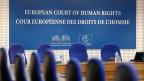 Rückführungen nach Italien werden noch schwieriger. Sitz des Europäischen Gerichtshofs für Menschenrechte EGMR in Strassburg.