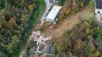 Das am 16. November abgerutschte Haus in Davesco-Soragno im Tessin, lag nicht in einer Gefahrenzone.