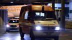 Eine Ambulanz mit Polizei-Eskorte brachte den 43-Jährigen Kubaner ins Universitätsspital in Genf.